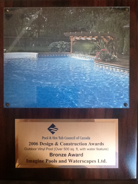 2006 Design & Construction Award - Bronze