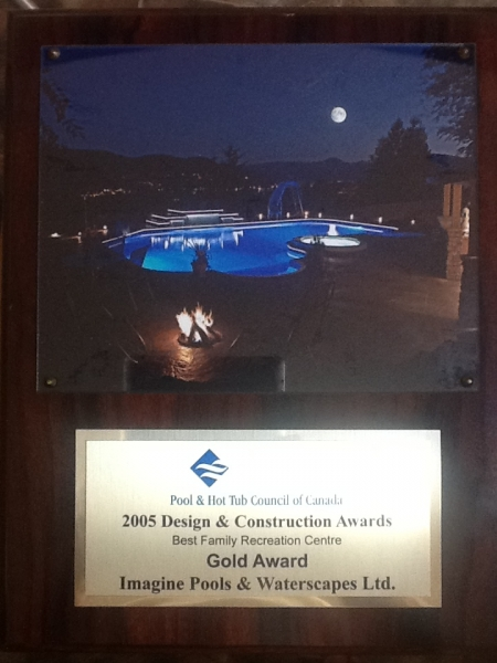 2006 Design & Construction Award - Gold