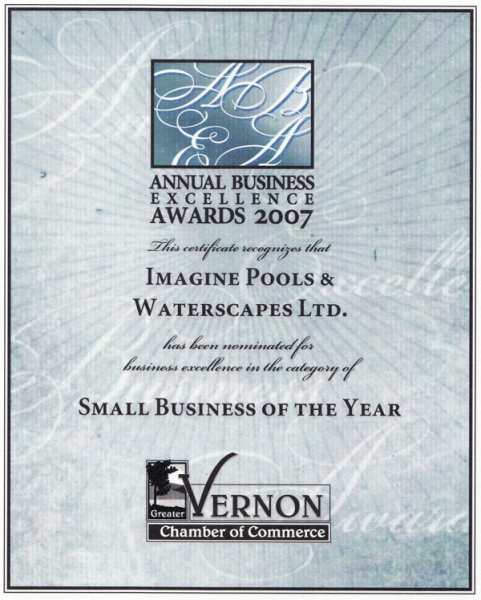 Annual Business Excellence Awards 2007